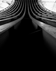 Leading Lines (The Pinged Hobbit) Tags: blackandwhite leeds