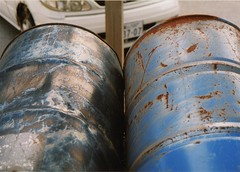 Barrels Again (the.Firebottle) Tags: metal drums rust barrels decay barrel 55gallondrums