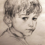 "<b>Portrait of Matt at Three Years Old</b><br/> Iudin (Pencil, 2001)<a href=""//farm8.static.flickr.com/7045/6876615961_758f142017_o.jpg"" title=""High res"">∝</a>"