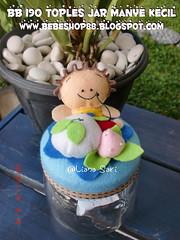 Cute Jar (One month old baby souvenir) (Bebe Handmade) Tags: flanel cutegifts manye tempattissue souvenirsebulananbayi sebulananbayi kerajinankainflanel kuelucu kueflanel onemontholdbabysouvenir kadospecial kadocantik