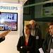 Bezoek aan de stand van Philips Lightning  Fotograaf: Erwin Brouwers