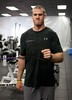 Texas A&M QB RYAN TANNEHILL working on upper body conditioning