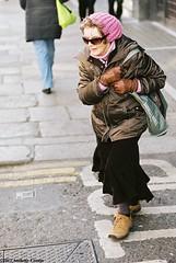 Swerve to avoid.. (Anthony Cronin) Tags: ireland analog reala irelanddublin 100 inner street fuji irishlife street dublinlife dublin dublinirish streetsdublin dublinliving dunne tpastreet dublinirelandnikonf8050mmf14d50mmf14danthonycroninallrightsreservedirishphotographystreetsdublinstreetphotographystreetsofdublin photangoirl