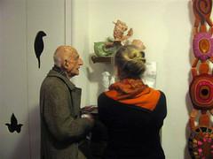 Febbraio 2012 - Incontro con Gillo Dorfles In studio (Carla Tolomeo) Tags: arte scultura critico chiars gillodorfles carlatolomeo
