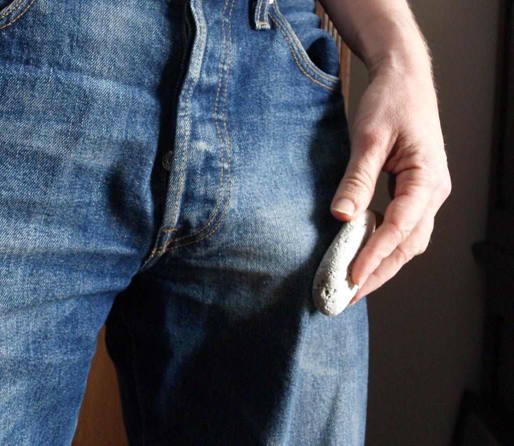 Best way penis jean bulge