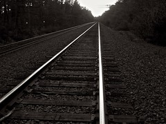 The Commuter Rail (Dan:Brown) Tags: bw
