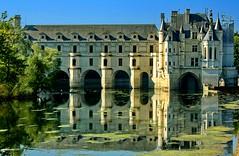 Chateau de Chenonceau / Замъка Шенонсо (mitko_denev) Tags: france castle frankreich palace chateau schloss chenonceau дворец замък франция шенонсо