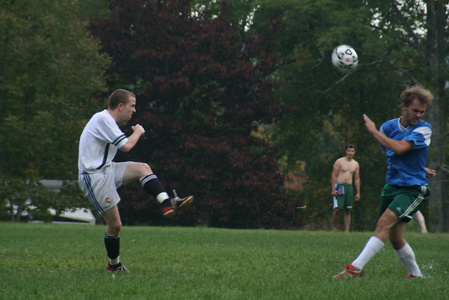 Soccer Against Bennington