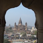 "Chatturbuj Mandir from the Raj Mahal <a style=""margin-left:10px; font-size:0.8em;"" href=""http://www.flickr.com/photos/14315427@N00/6922628671/"" target=""_blank"">@flickr</a>"