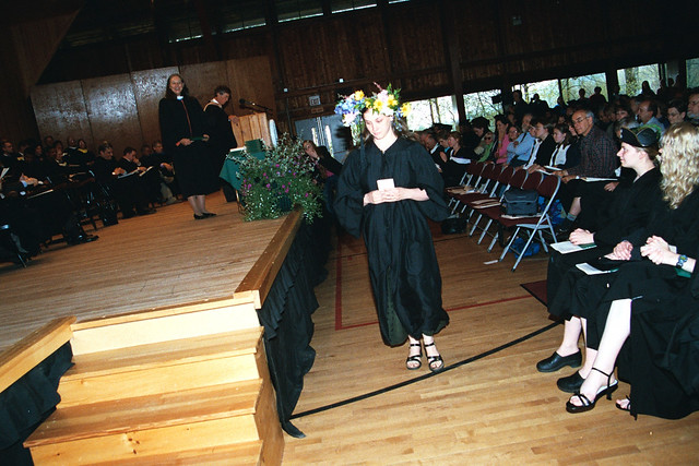 Flower Child Getting Diploma