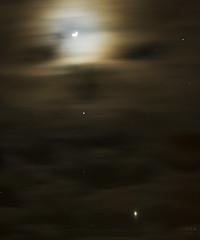 Teddy Bear Trio (- Dunja -) Tags: sky moon venus astronomy jupiter oursolarsystem bestnewcomer astro:subject=moon astro:subject=venus astro:subject=jupiter mygearandme competition:astrophoto=2012 astro:gmt=20120227