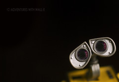 See the universe. (CraniumCommand) Tags: stars disney galaxy pixar universe walle wallie toyphotography adventureswithwalle walle365 walle366