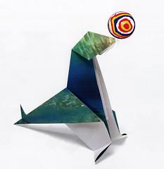 Origami création - Didier Boursin - Otarie