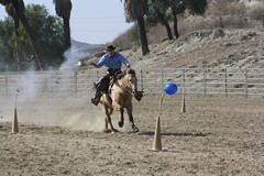 IMG_0254 (Journalist (fb.com/danthephotog)) Tags: california ca 2 two horses animals cowboys balloons fun cowboy shot bad calif valley mounted match guns shooting bone moreno accusation cmsa