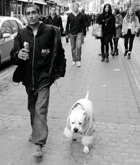 King of the Road (Ian Brumpton) Tags: street blackandwhite london noiretblanc candid bricklane kingoftheroad londonstreetphotography ianbrumpton aimlessstrolling