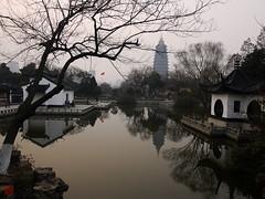 Kalte Ruhe (sring77) Tags: china park  spiegelung  changzhou  tianningpagoda