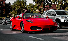 Four Thirty Spider. (AESDUB) Tags: red del mar san diego ferrari f f430 430
