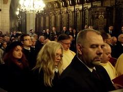 Podczas mszy św. w Katedrze Wawelskiej
