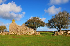 The Ruins (Mark Youlden) Tags: trees sky building church grass clouds ruins chapel remains