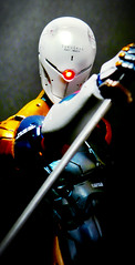 Cyborg Ninja LED Custom (Jova Cheung) Tags: toys actionfigure led grayfox metalgearsolid customfigure cyborgninja playartskai