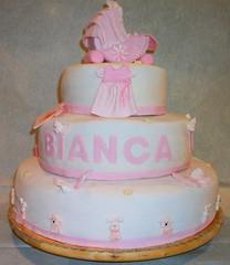 (motzuss) Tags: pink pinkcake christeningcake