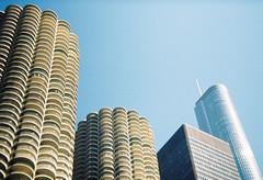 legacy (weston work) Tags: chicago architecture marina goldberg towers ibm trump bertrand mies