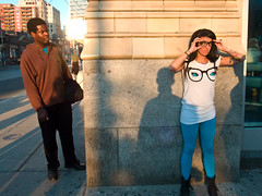 twelve eyes (Unlikely Ghost) Tags: street toronto public glasses muchmusic candid streetphotography vj first6 total67 sixth7 12eyes twelveeyes phoebedykstra unlikelyghost fifth7 ninth5 seventh6 tenth6 eighth4 second9 third8 fourth9