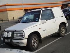 1996 Suzuki Vitara JLX Van (GoldScotland71) Tags: 1996 4wd suzuki van vitara 1990s jlx