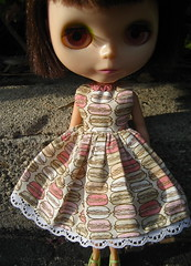 French Macarons Dress for Blythe