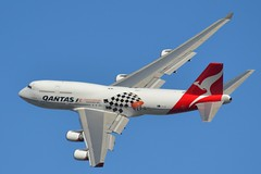 Qantas Flyover (scott_cove) Tags: plane nikon australia melbourne victoria planes boeing qantas flyover 747400 longreach d3100