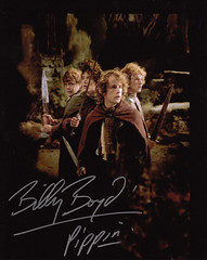 Billy Boyd Signed Photograph 2 (TravelShorts) Tags: autograph actor lordoftherings pippin signed beecake billyboyd