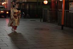 Geisha in Ginza II (PhotosWithErwin) Tags: travel girl japan canon japanese ginza kyoto asia geisha 5d kimono mkii