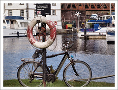 Forth and Clyde Canal (Ben.Allison36) Tags: uk west water boats scotland clyde boat canal harbour olympus basin forth bowling locks british e600 waterways forthandclydecanal dunbartonshire