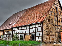 DSC02878_tonemapped (Steffen Obenland) Tags: oldhouse halftimbered halftimber