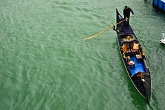 Gondolier (Marko Stavric) Tags: travel venice italy man water rio march boat canal spring europe italia row rowing gondola venezia grandcanal gondolier veneto