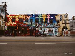 #Mural at Pacific and Windward Ave #Venice #travel #photography #california #art (RayStudio) Tags: ca venice streetart art la losangeles mural 700 000 omd raystudio em5 140309 o1240f28 700windward p3060050resize
