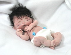 IMG_7778 (BeBe Babies and Friends) Tags: sculpture baby art one doll soft dolls babies ooak kind fabric bebe preemie cloth premature detailed realistic