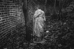 (Andrs Lzaro) Tags: london graveyard statue fujifilm cementery 2014