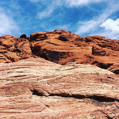 Calico Hills (CjK. Arch) Tags: redrockcanyon red nature desert bluesky calico calicohills