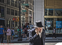 I Choose The Other Way (ViewFromTheStreet) Tags: street nyc newyorkcity portrait newyork man male guy classic hat fashion beard photography calle amazing manhattan candid streetphotography streetportrait suit jewish oneway orthodox plain bigapple blick allrightsreserved 7thavenue fashionavenue orthodoxjew viewfromthestreet excapture traditionalsuit stphotographia vftsviewfromthestreet blickcalle copyright2016 copyright2016blickcalle blickcallevfts blickcallevfts
