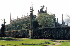 Italy.  March 29th.-April 3rd. 1998 (Cynthia of Harborough) Tags: art gardens architecture terraces 1998 sculptures palaces