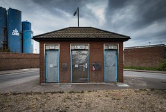 Public Inconvenience (John Pettigrew) Tags: toilet tamron urban 2470mm decay nikon architecture gorleston building grim d750 grot dunnyofdistinction