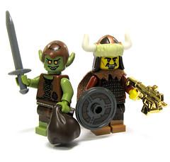 Trade ya! Now that's an upgrade! (ToyWiz.com) Tags: golden lego loot giveaway goblin peregrine brickarms toywiz toywizcom