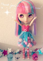 Amazing new dress <3 (Lisa_Anne*) Tags: doll little phoebe maybe boutique blythe custom miss
