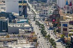 Las Vegas Strip (Preston Ashton) Tags: road vegas trees usa newyork paris cars america us ross traffic lasvegas nevada montecarlo palm mcdonalds northamerica luxor walgreens mgm newyorknewyork cvs excalibur bluemangroup blueman theparis polotowers prestonashton