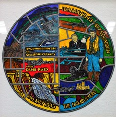 Memorial Plaque (G Gibson) Tags: jane east just dc3 squadron 617 kirkby dambusters nx611 2100882