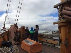 Sailing with Norðlýsið (purkil) Tags: sailing nólsoy norðlýsið nólsoyarkirkja