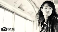 Beijing (Crowley Groot) Tags: china light portrait bw woman bus blancoynegro luz girl canon asia shot retrato beijing autobus chinesse morena pekin canon7dmarkii