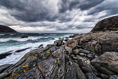 Mulevika (Usstan) Tags: ocean winter sea sky seascape water norway clouds lens landscape norge nikon waves seasons wind no sigma wideangle d750 westcoast locations costal sunnmre mreogromsdal 2470mm hery nerlandsy nerlandsya