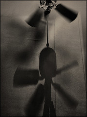 Fan (Bob R.L. Evans) Tags: shadow abstract sepiatone imperfect